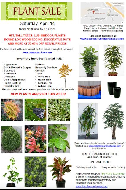 BIG Plant and Garden Sale | Hoodline on
