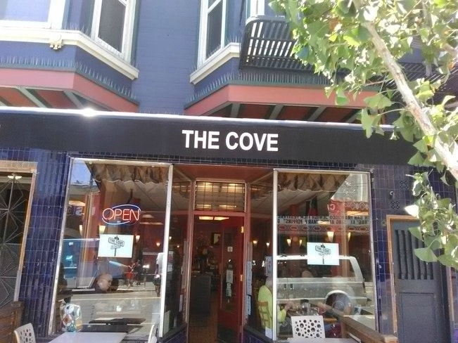 Cove front