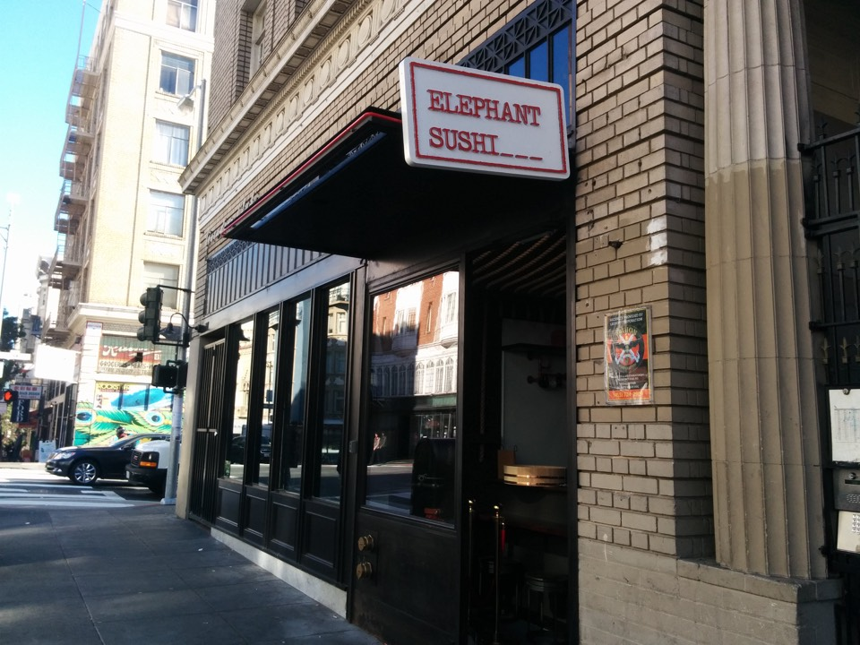 Elephant Sushi To Debut New Geary Location On Dec  1 | Hoodline