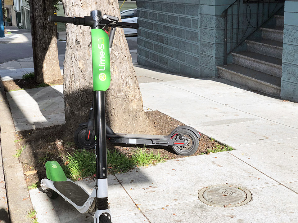 With legalized scooters returning to SF on Monday, rejected