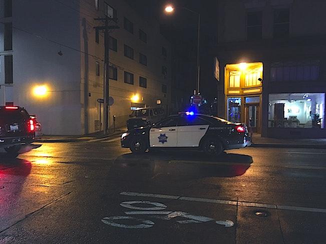 Cops on polk