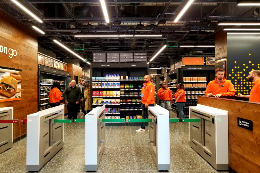 Amazon Go Opens Its Doors In The Fidi With Prepared Foods And