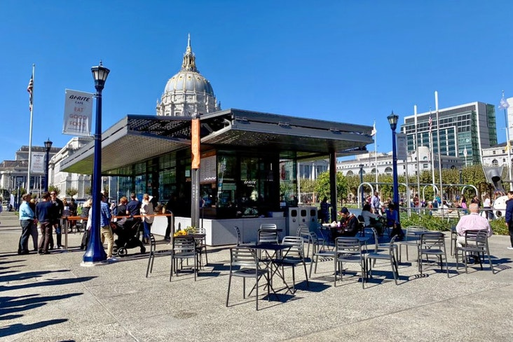 Bi rite cafe at civic center plaza photo 1 enhanced
