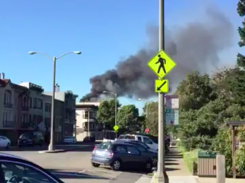 2-Alarm Fire Breaks Out At 4th Avenue And Lincoln [Updating] | Hoodline