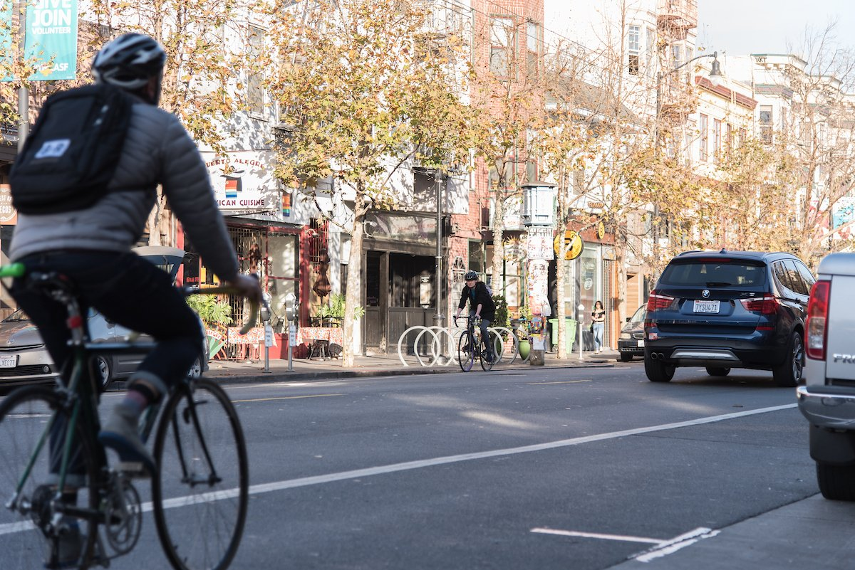 3 blocks of Valencia Street set to receive protected bike