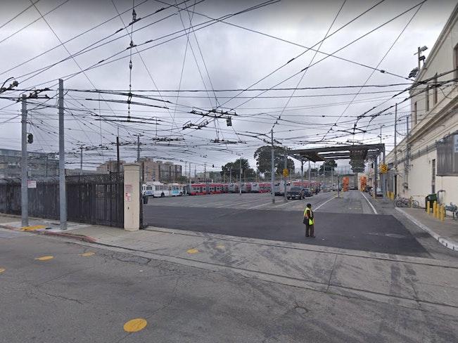 Muni potrero yard google