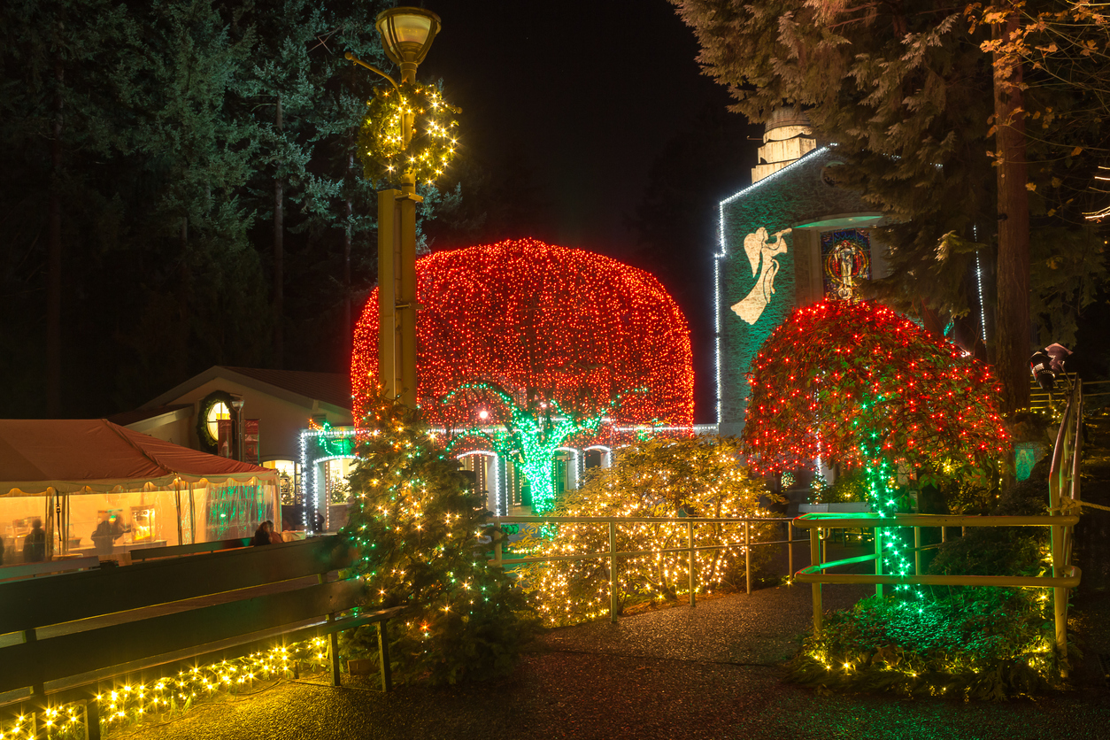 San Jose Christmas Lights.Holiday Travel Escape From San Jose To Portland For The