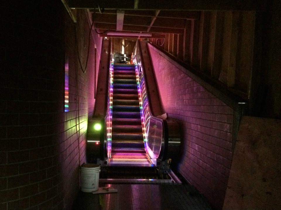 The Castro S New Rainbow Escalators Garner Mixed Reactions