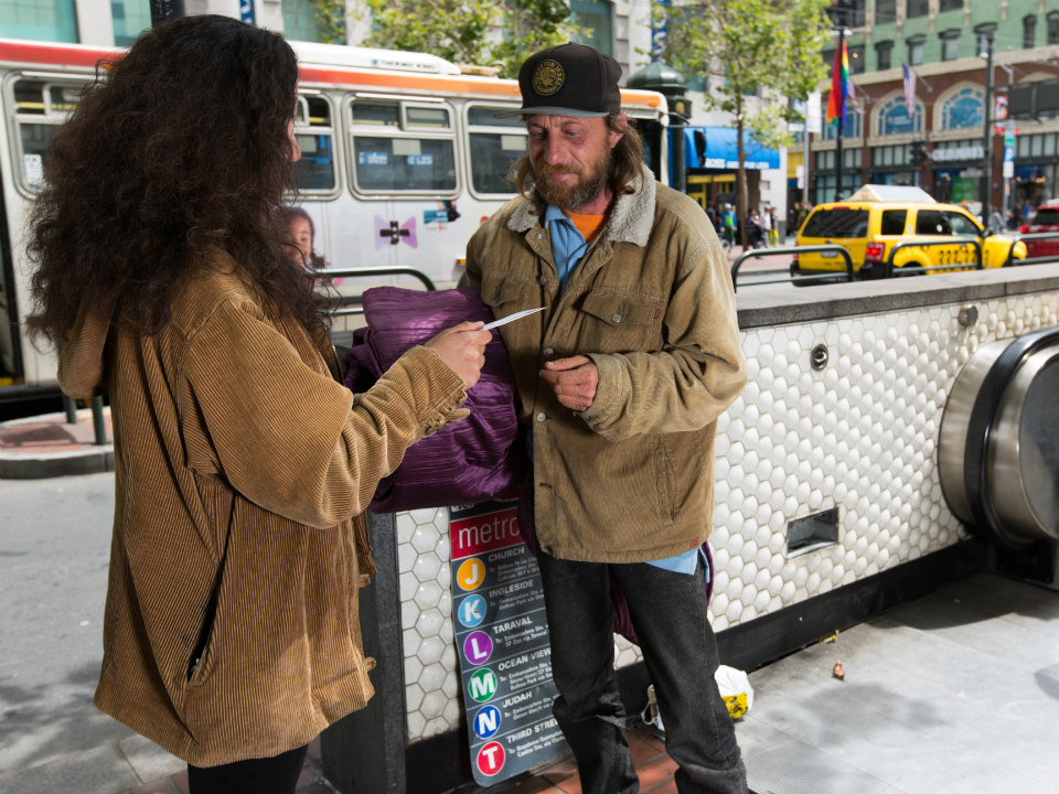 To Give, Or Not To Give: What's The Best Way To Help SF's
