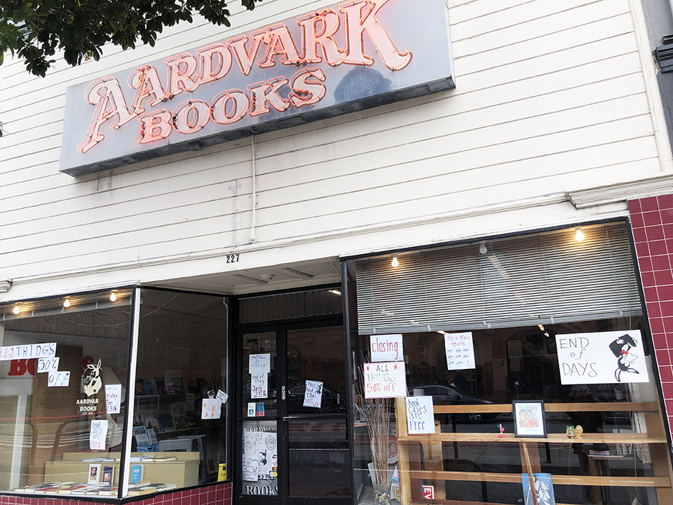 Final chapter: Aardvark Books to close this Friday after 40
