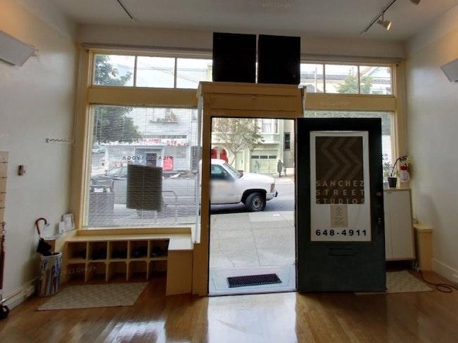 Breathing yoga studio