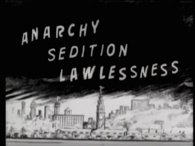 Anarchyseditionlawlessness