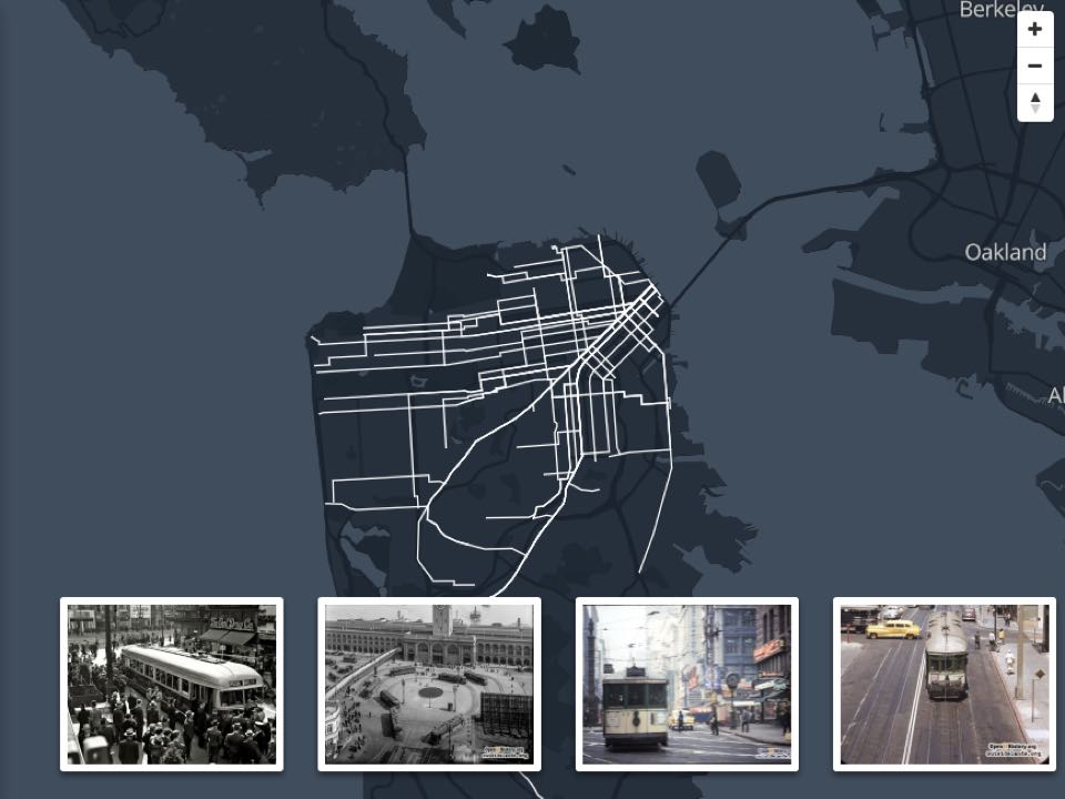 New Interactive Map Shows Historic Streetcar Routes Of San ... on