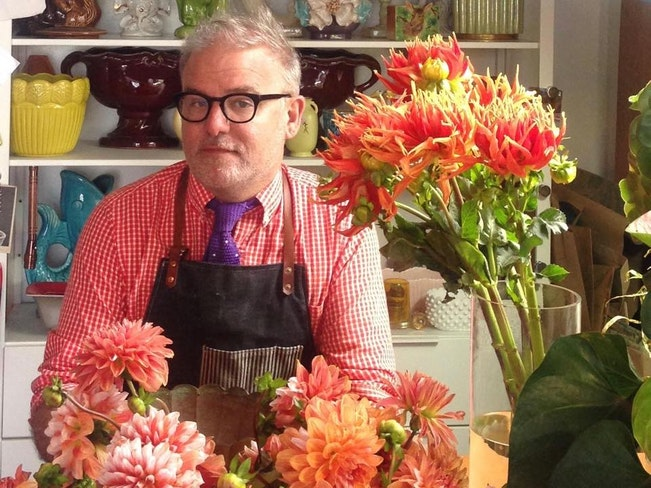 Kirk wilder of acme floral co