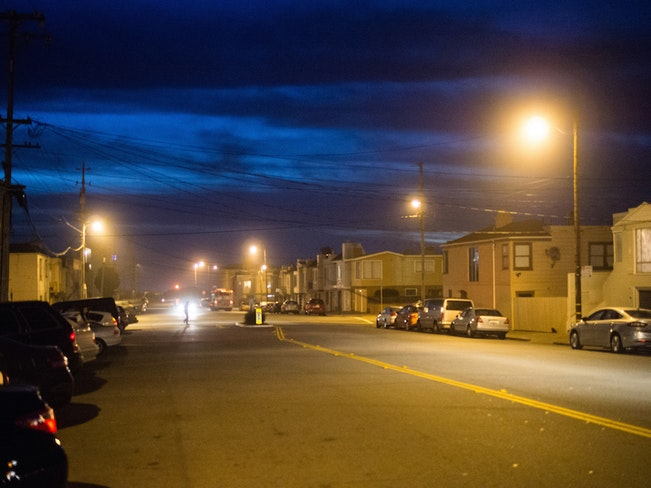 Outer sunset at night by eugene kim