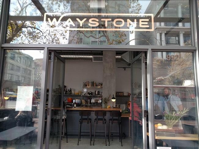 Waystone outside 2