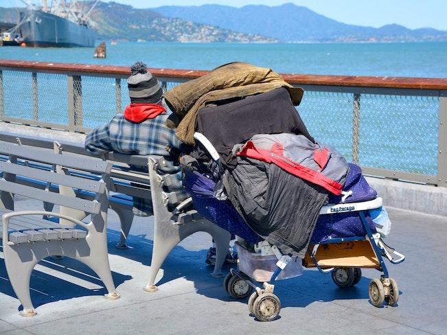 Homeless pier 960