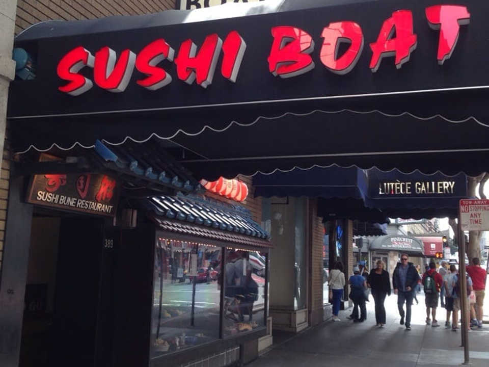 Union Square Sushi Boat Restaurant To Close After 31 Years