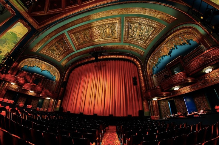 Curran theater stage