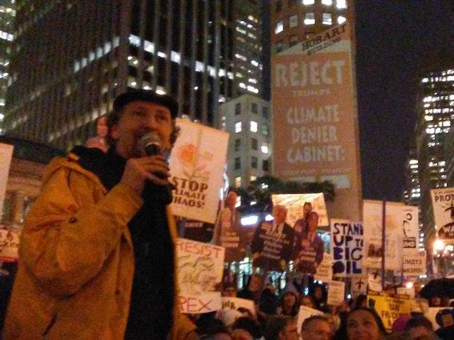 David solnit protest