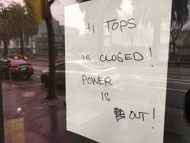 Hi tops closed