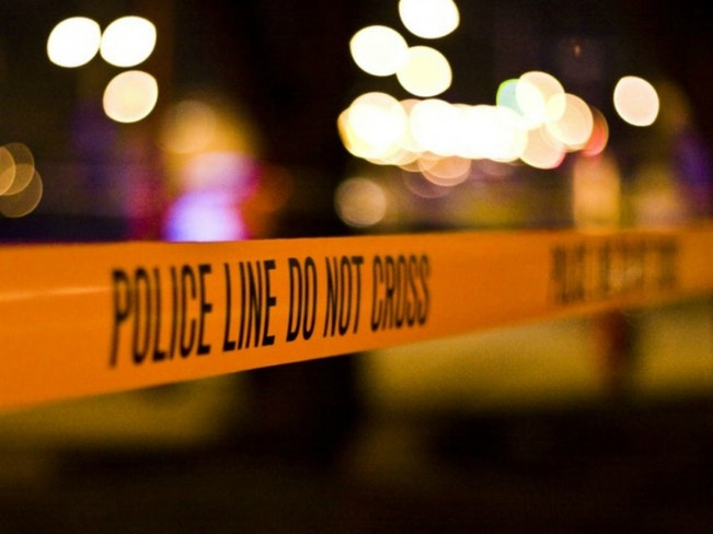 Police line police tape