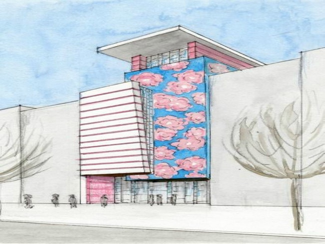 New museum drawing by alan martinez