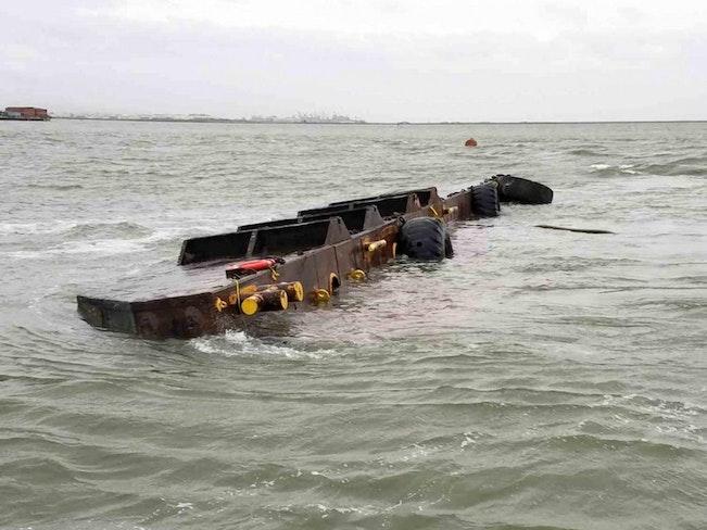 Vengeance barge san francisco bay oil spill