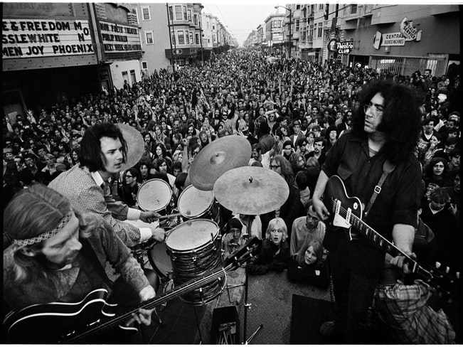 Grateful dead on haight