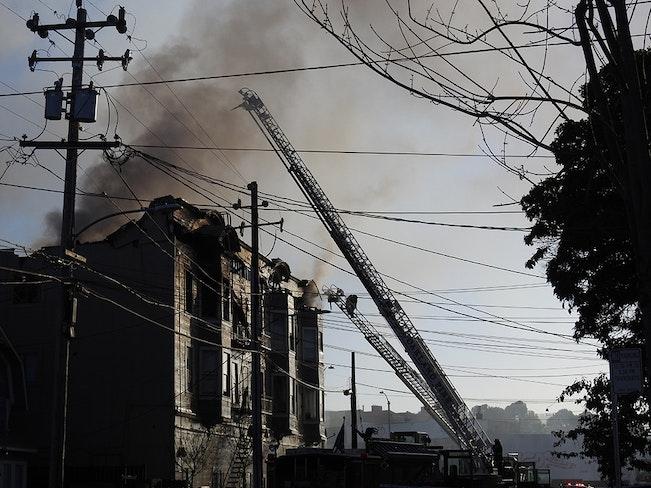 West oakland fire1