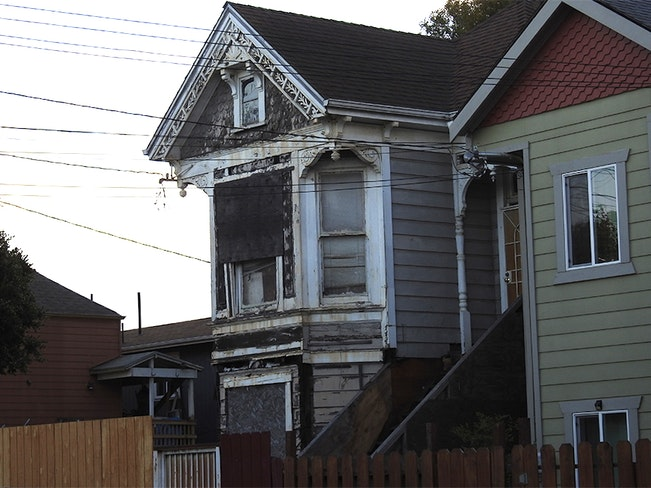 Old west oakland house