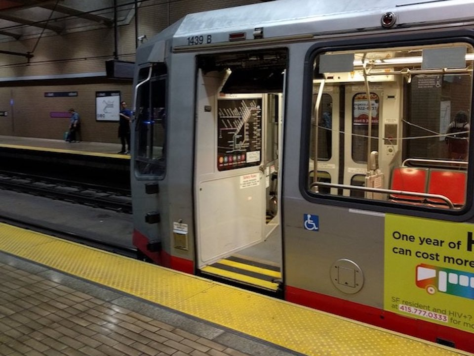 Ordinaire Broken Closing Mechanism Caused Door To Fly Off Moving Train In Metro Tunnel