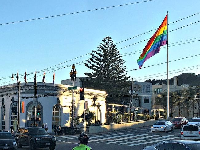 Image 2 downing rainbowflag