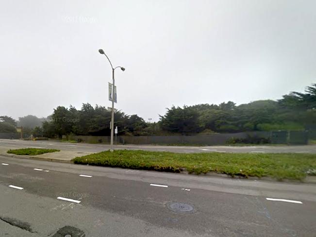 Sloat boulevard near great highway