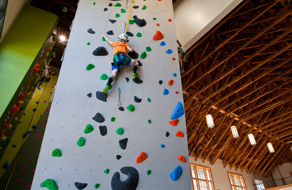 1st Public Rock Climbing Wall Unveiled At Renovated Glen Canyon Rec Center Hoodline