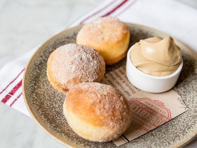 Donuts   butterscotch cream