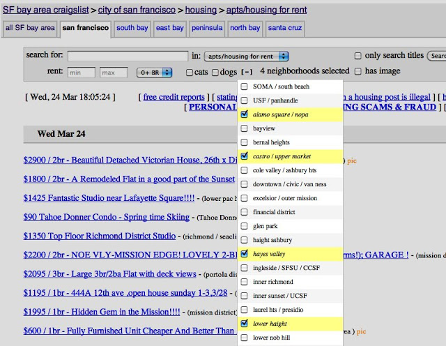 Craigslist Adds Multi Neighborhood Search But You Really Only Need