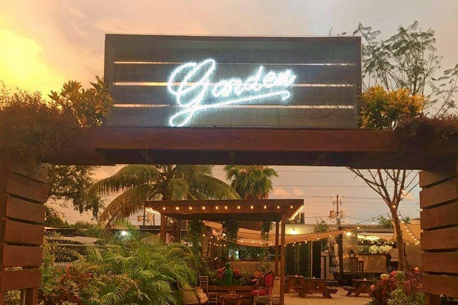 Wynwood Gets A New Outdoor Restaurant And Venue Garden