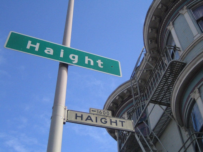 Haight st sign by paul downey flickr