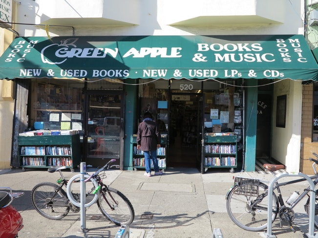 Green apple books inner richmond