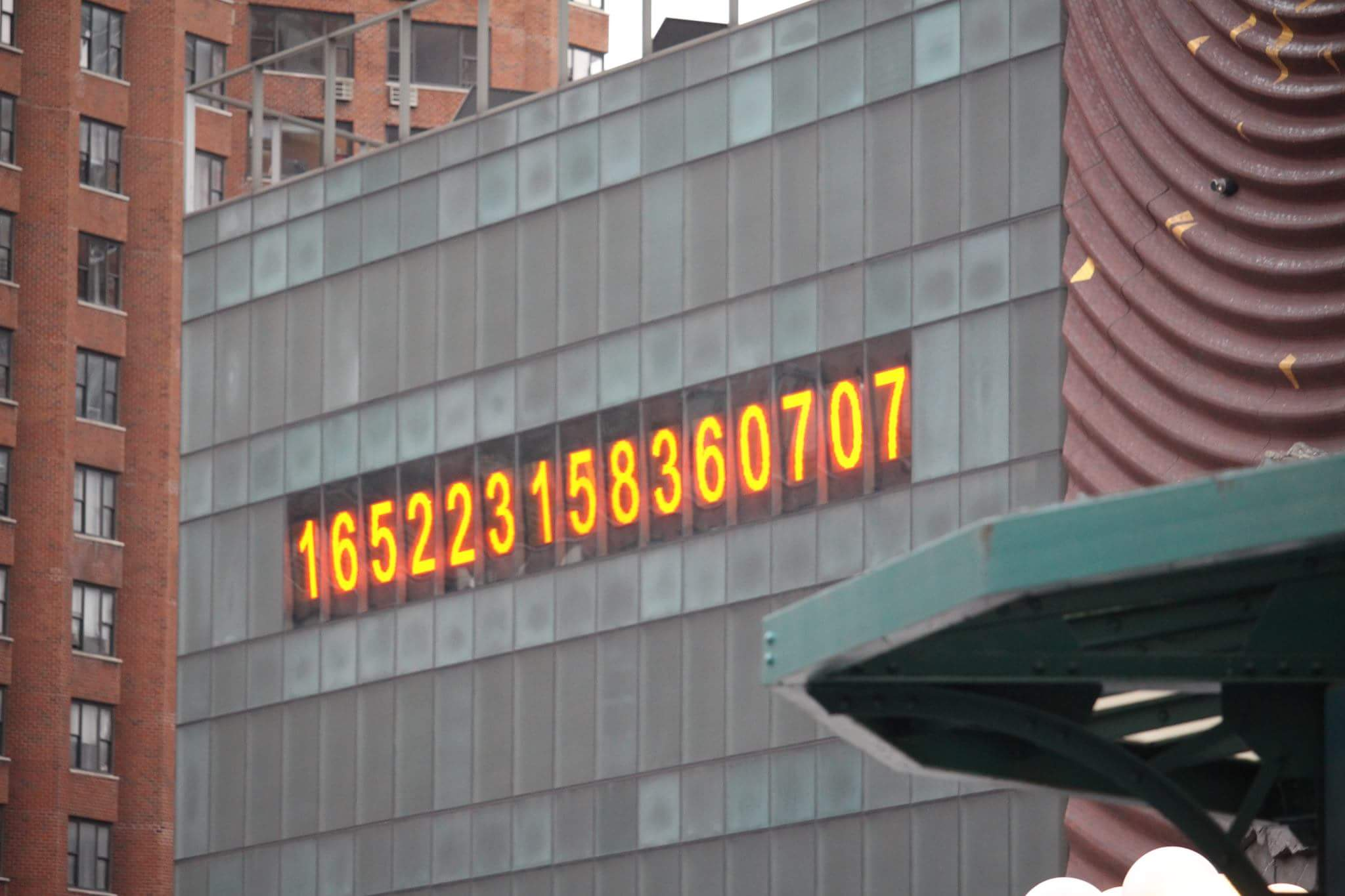 Really   What Do These 15 Numbers in Union Square Stand For