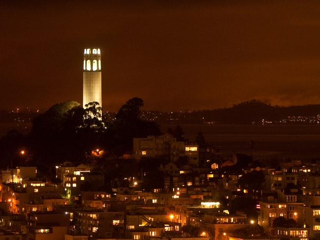 Coit tower by marc tarlock