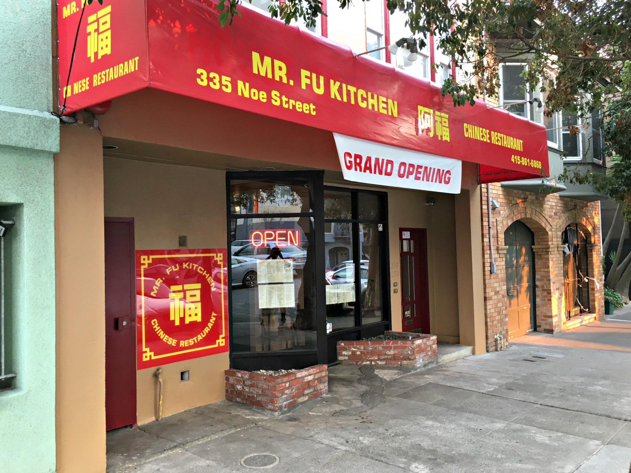 Mr Fu Kitchen Brings Chinese Cuisine Back To Noe Street