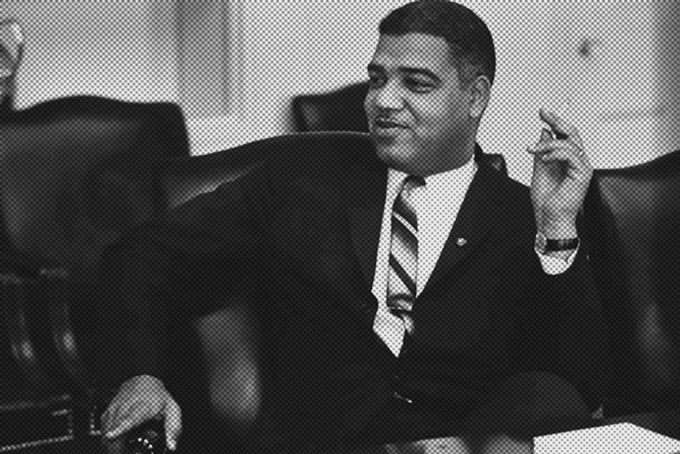 Exhibit recognizes 'Power Broker' Whitney Young, Jr , 1960s