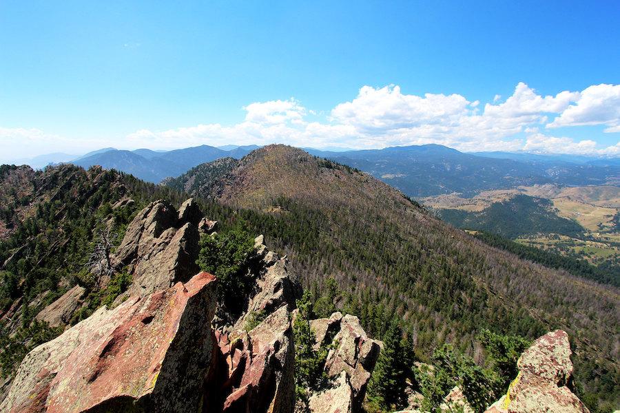 Top Denver news: Man dies from lightning strike on Bear Peak