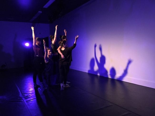 Channeling blue shape shadow nov 2017