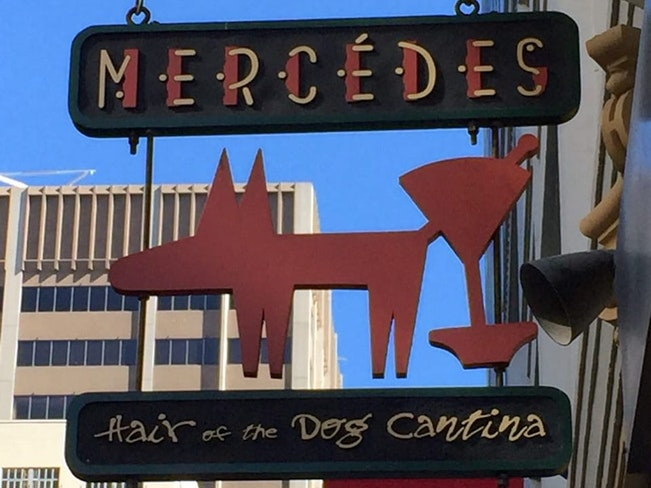 Mercedes hair of the dog