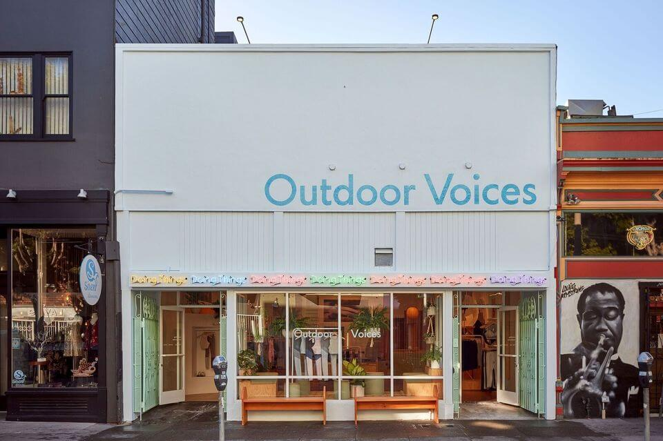 Athleisure Brand Outdoor Voices Opens