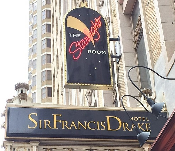 The Starlight Room sign outside the Sir Francis Drake will be removed and replaced.