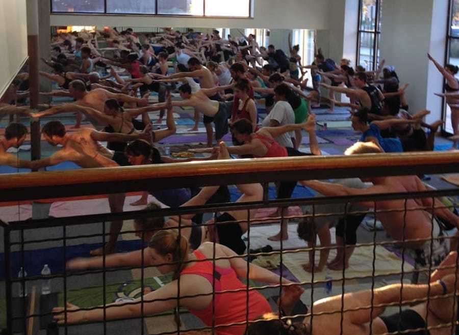 (Credit: Bikram Yoga Midtown Detroit/ Yelp)